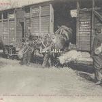 30 - Débarquement de Chevaux par des moyens de fortune