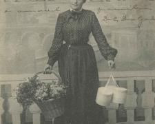 30 - Une Bouquetière