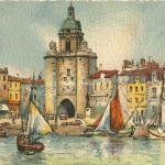 Barday 9x14 - 3020 - La Rochelle