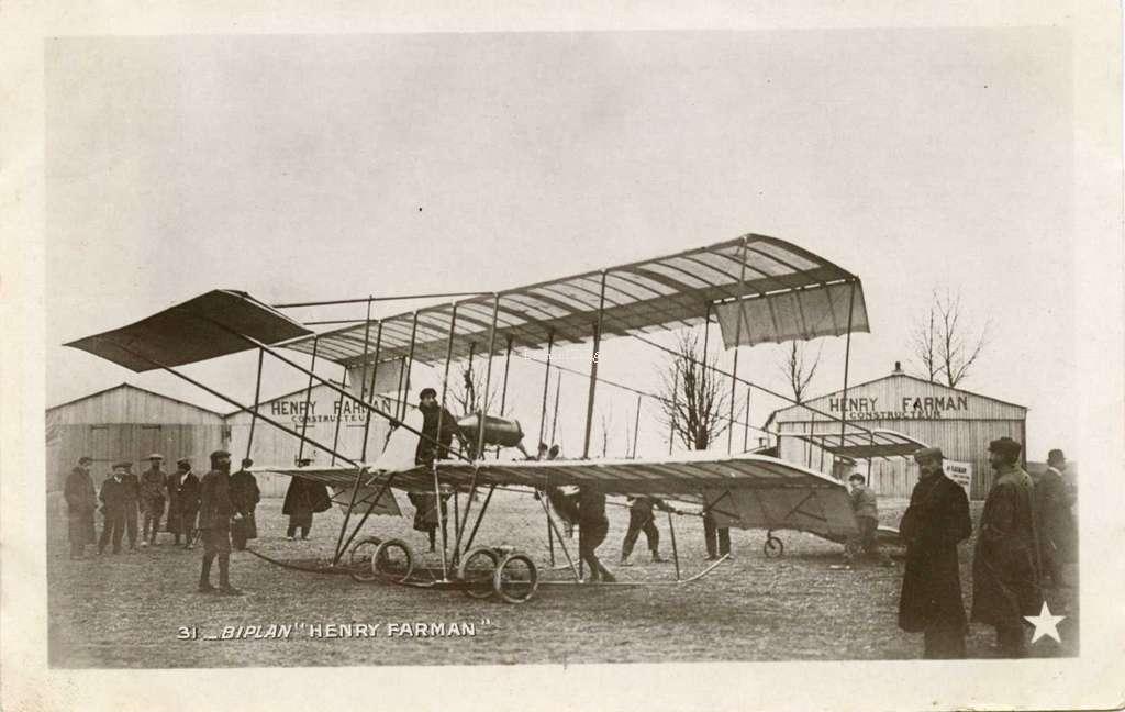 31 - Biplan Henry Farman