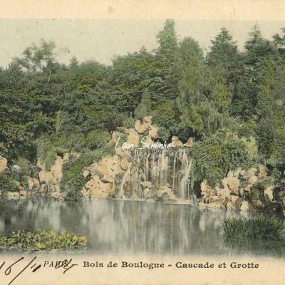 31 - Bois de Boulogne - Cascade et Grotte