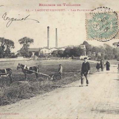 31 - Lacourtensourt - Les Papeteries