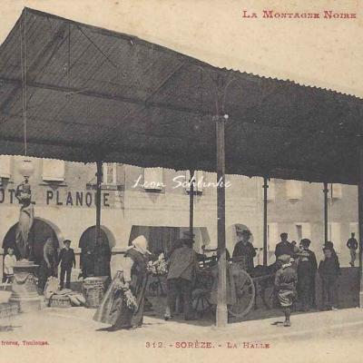 312 - Sorèze - La Halle
