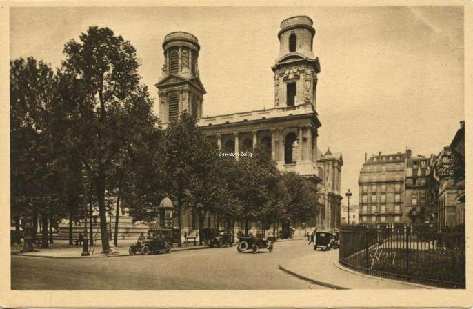 313 - Eglise et Place Saint-Sulpice