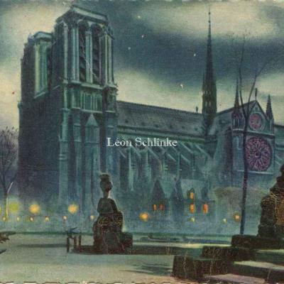 32 - Notre-Dame vue du square de St-Julien-le-Pauvre