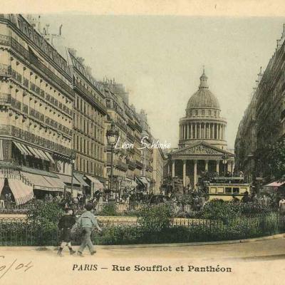 32 - Rue Soufflot et Panthéon