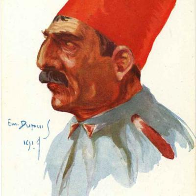 32 - Soldat d'infanterie (turc)