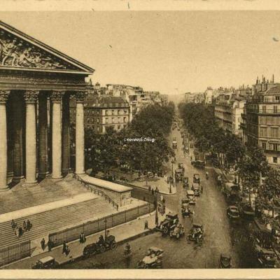 33 - La Madeleine et le Boulevard de la Madeleine
