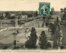 33 - PARIS - Le Pont Alexandre III vers les Invalides