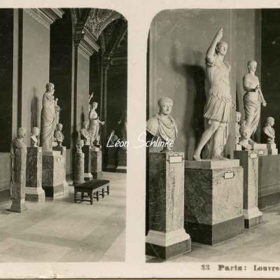 33 - Paris - Louvre - Empereurs romains