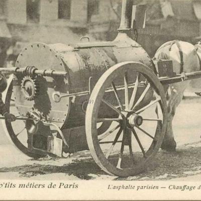 34 - L'asphalte parisien - Chauffage du bitume