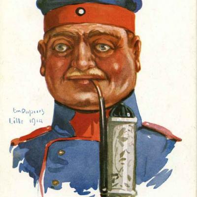 34 - Soldat d'infanterie (landsturm allemand)