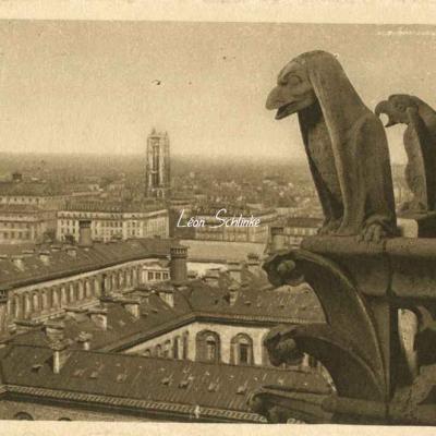34 - Vue panoramique prise des Tours de Notre-Dame