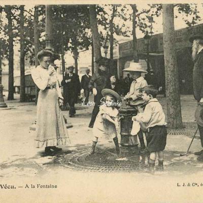 35 - A la Fontaine