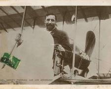 35 - Henry Farman sur son Aéroplane