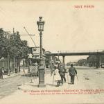 36 - Cours de Vincennes - Station de Tramway Banlieue