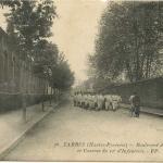 38 - Boulevard de la Gare et Caserne du 12° d'Infanterie