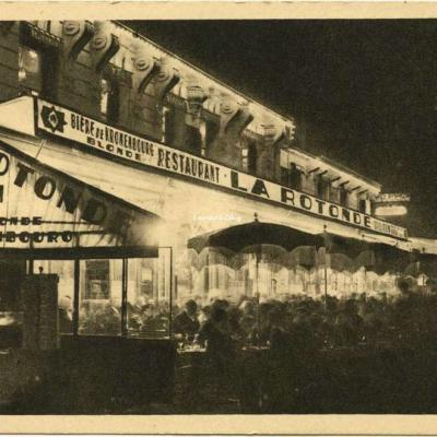38 - MONTPARNASSE la Nuit - La Rotonde