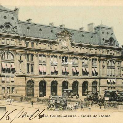 39 - Gare Saint-Lazare - Cour de Rome