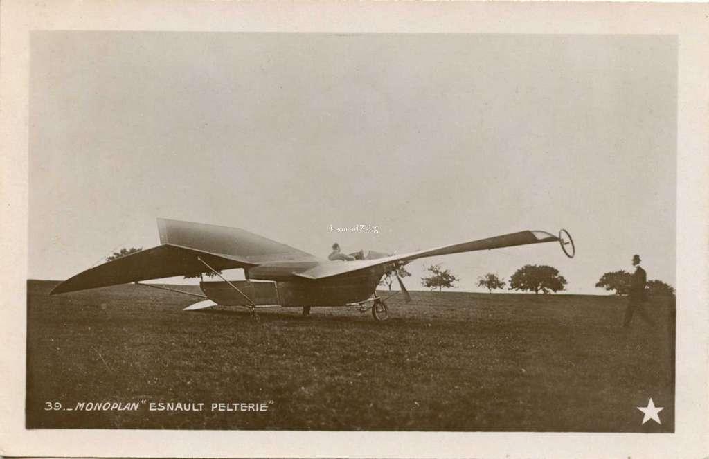 39 - Monoplan Esnault-Pelterie