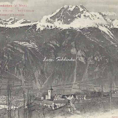 4 - 104 - Vallée d'Aure - Estensan et l'Arbizon