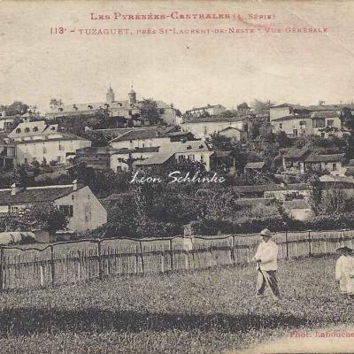 4 - 113 - Tuzaguet près St-laurent de Neste - Vue générale