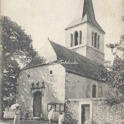 4 - 114 - Bizous près Tuzaguet - L'Eglise