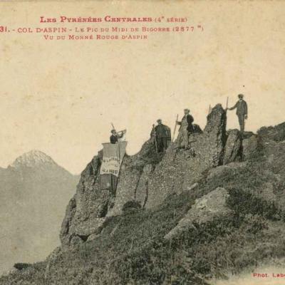 4 - 131 - Col d'Aspin - Pic du Midi vu du Monné Rouge