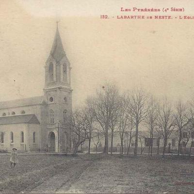 4 - 132 - Labarthe de Neste - L'église