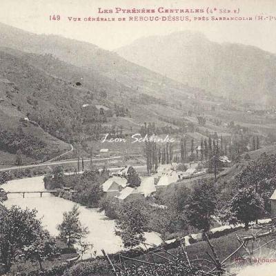 4 - 149 - Vue générale de Rebouc-Dessus près Sarrancolin