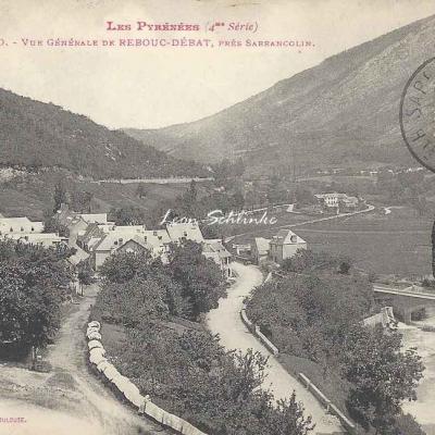 4 - 150 - Vue générale de Rebouc-Debat près Sarrancolin