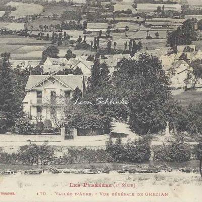 4 - 170 - Vallée d'Aure - Vue générale de Grézian
