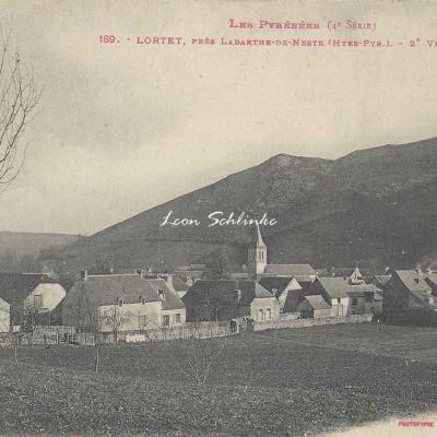 4 - 189 - Lortet près Labarthe de Neste