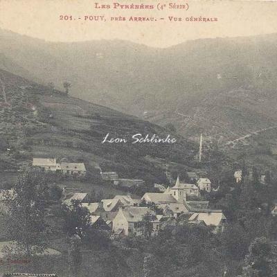 4 - 201 - Pouy, près Arreau - Vue générale