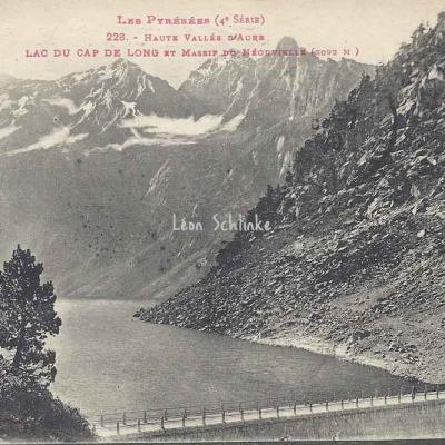 4 - 228 - Lac du Cap de Long et Massif du Néouvielle