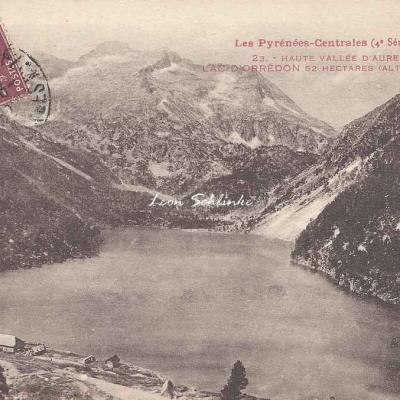 4 - 23 - Haute Vallée d'Aure, Lac d'Orédon à 1879 m.