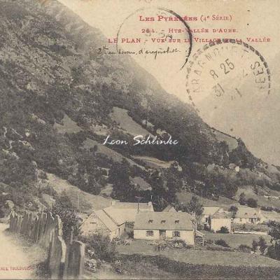 4 - 254 - Hte Vallée d'Aure - Le Plan -