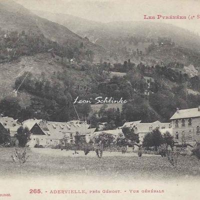 4 - 265 - Adervielle près Génost - Vue générale