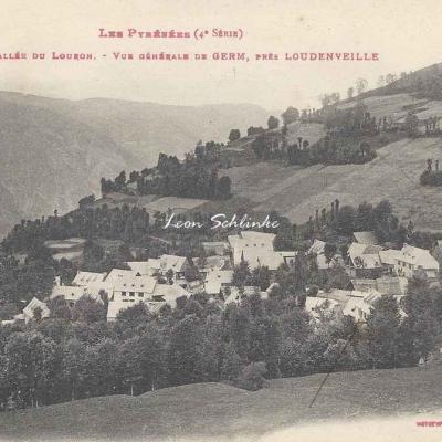 4 - 269 - Vallée du Louron - Vue générale de Germ près Loudenvielle