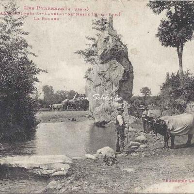 4 - 316 - Anères près St-Laurent de Neste - Le Rocher