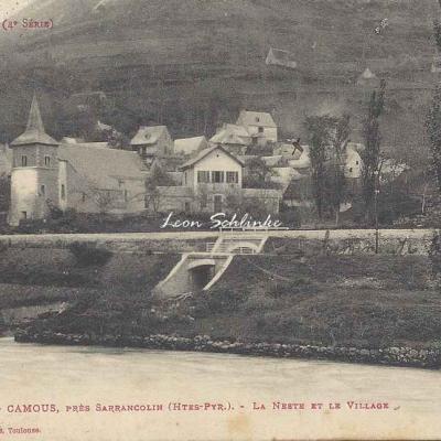 4 - 354 - Camous près Sarrancolin - La Neste et le Village