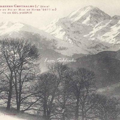 4 - 355 - Le Massif du Pic du Midi en hiver
