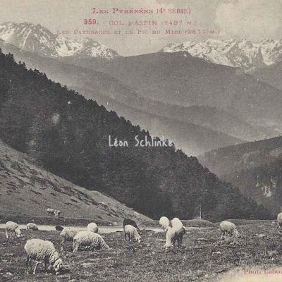 4 - 359 - Col d'Aspin et Pic du Midi