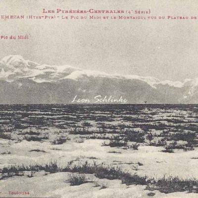 4 - 377 - Lannemezan, Pic du Midi et Montaigu