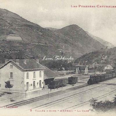 4 - 5 - Vallée d'Aure - Arreau, la Gare