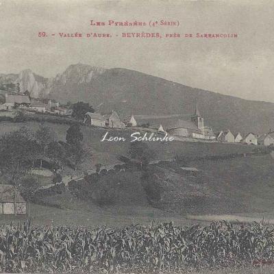 4 - 59 - Vallée d'Aure - Beyrèdes près de Sarrancolin
