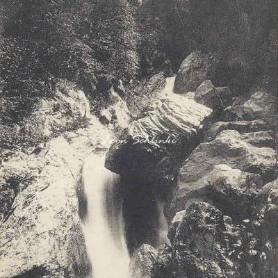 4 - 87 - Vallée d'Aure - Tramezaygues, cascade de Rieumajou