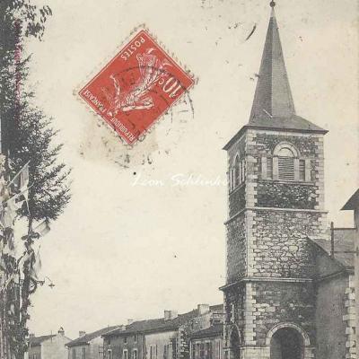 4 - 91 - Saint-Laurent de Neste - Le Clocher