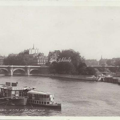 4 - La Cité et le Pont Neuf