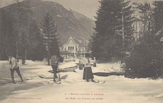 4 - Le Parc du Casino en hiver